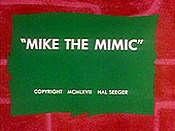 Mike The Mimic Pictures Cartoons