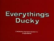 Everything's Ducky Cartoon Picture