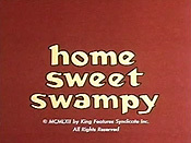 Home Sweet Swampy Cartoon Picture