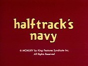 Halftrack's Navy Cartoon Character Picture
