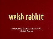 Welsh Rabbit Cartoon Character Picture