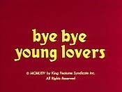 Bye Bye Young Lovers Cartoon Character Picture