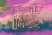 Cecil Meets The Singing Dinasor Cartoon Picture