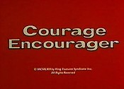 Courage Encourager Cartoon Picture