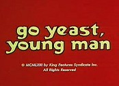 Go Yeast, Young Man Pictures In Cartoon