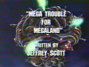 Mega Trouble For Megaland Cartoon Character Picture