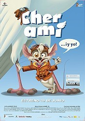 Cher Ami... ¡Y Yo! Cartoon Picture