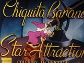 Chiquita Banana Star Attraction Cartoon Picture