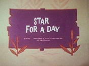 Star For A Day Cartoon Picture