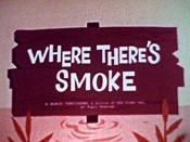 Where There's Smoke Cartoon Character Picture