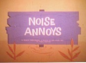 Noise Annoys Cartoon Picture