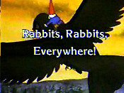 Rabbits, Rabbits, Everywhere! Free Cartoon Picture