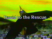 David To The Rescue Free Cartoon Picture