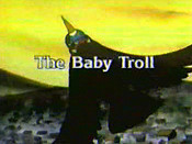 The Baby Troll Picture Into Cartoon