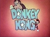 El Donkey Kong The Cartoon Pictures