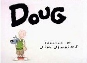Doug's Huge Zit Cartoon Character Picture