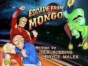 Escape From Mongo Picture To Cartoon