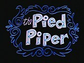 The Pied Piper Cartoon Pictures