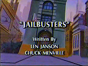 Jailbusters Cartoon Character Picture
