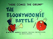 The Bloonywoonie Battle Free Cartoon Picture
