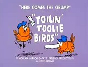 Toilin' Toolie Birds Cartoon Picture