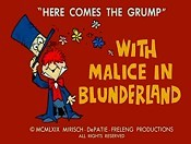 With Malice In Blunderland Cartoon Picture