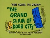 The Grand Slam Of Door City Cartoon Picture