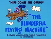The Blunderland Flying Machine Cartoon Picture