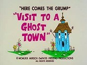 Visit To A Ghost Town Free Cartoon Pictures