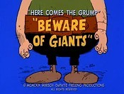 Beware Of Giants Cartoon Picture