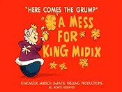 A Mess For King Midix Cartoons Picture