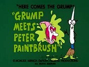 Grump Meets Peter Paintbrush Picture Of Cartoon