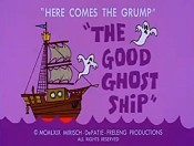 The Good Ghost Ship Cartoon Picture