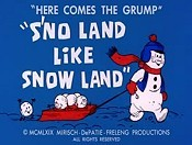 Sno Land Like Snow Land Cartoon Picture