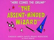 The Absent-Minded Wizard Cartoon Picture