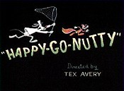 Happy-Go-Nutty Cartoon Character Picture