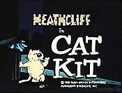 Cat Kit Cartoon Picture