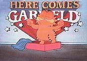 Here Comes Garfield Cartoon Picture