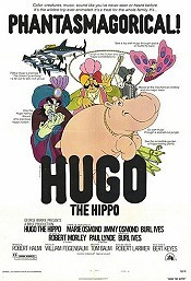 Hug� A V�zil� (Hugo The Hippo) Cartoon Character Picture