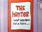 Haunted Hunter Free Cartoon Picture