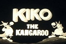 Kiko the Kangaroo Theatrical Cartoon Series Logo