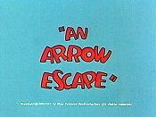 An Arrow Escape Cartoon Picture