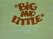Big And Little Pictures Cartoons