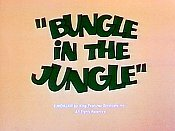 Bungle In The Jungle Pictures In Cartoon
