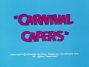 Carnival Capers Cartoon Character Picture