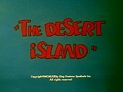 The Desert Island Cartoon Character Picture