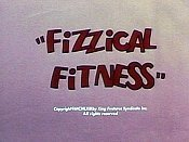 Fizzical Fitness Cartoon Character Picture