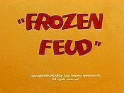 Frozen Feud Cartoon Picture
