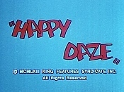 Happy Daze Cartoon Character Picture