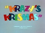 Krazy's Krismas Pictures In Cartoon
